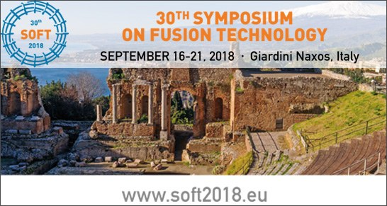 SOFT 2018 | 30th edition of the Symposium on Fusion Technology