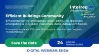 Efficientamento energetico degli edifici: la diagnosi energetica e il quadro nazionale delle detrazioni fiscali. Il progetto europeo Efficient Buildings e i risultati del progetto TEESCHOOLS