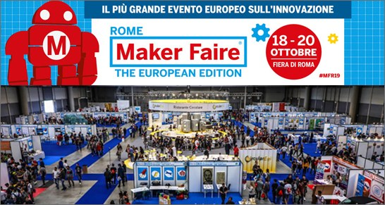 ROME MAKE FAIRE, the european edition