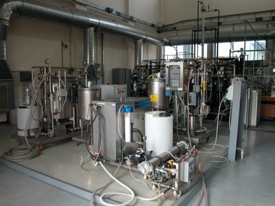 Impianto di filtrazione a membrana