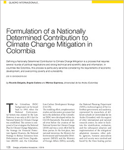 Contribution colombia