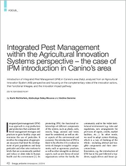 6 Integrated pest management