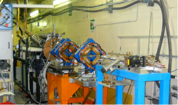 FIGURE 8 - The existing 7 MeV ISS proton injecton at ENEA-Frascati