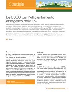 ESCO efficientamento