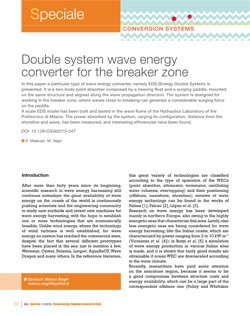 10 Double system wave energy