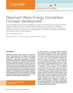 8 Resonant wave concept