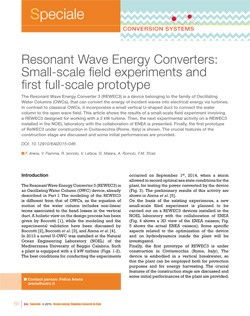 9 Resonant wave small scale
