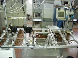 Disposizione componenti circuito CADORE a banco