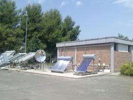 Stazione di prova dei collettori solari termici