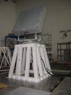 Test su sistema d'antenna radar