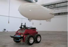 Collaborazione tra PRASSI e lo ZERO (dirigibile autonomo)