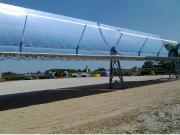 Collettore solare parabolico lineare