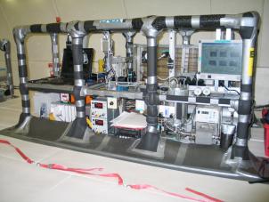 Impianto MICROBO in configurazione di volo