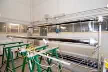 Laboratorio per le prove di qualificazione dei tubi ricevitori