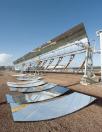 Pannelli riflettenti dei collettori solari