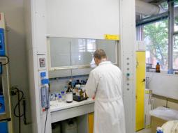 Preparazione campioni per analisi al GC-Massa